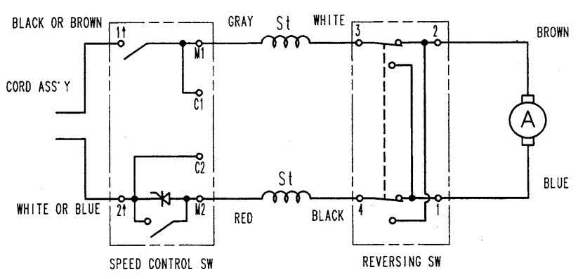 9-4. Wiring Diagrams (1) Product with noise suppressor Fig. 27 (2) Product without noise suppressor Fig.