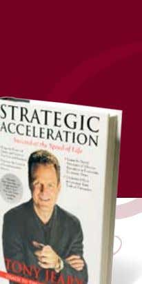 Acceleration: Succeed at the Speed of Life by Tony Jeary by Tony Jeary Vanguard Press ©