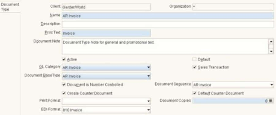 "Add to ""Document Type"" window FIELD: C_EDIFormat_ID Add Table: ""C_EDIFormat"" • FIELDS: C_EDIFormat_ID, EDI Format Name,"