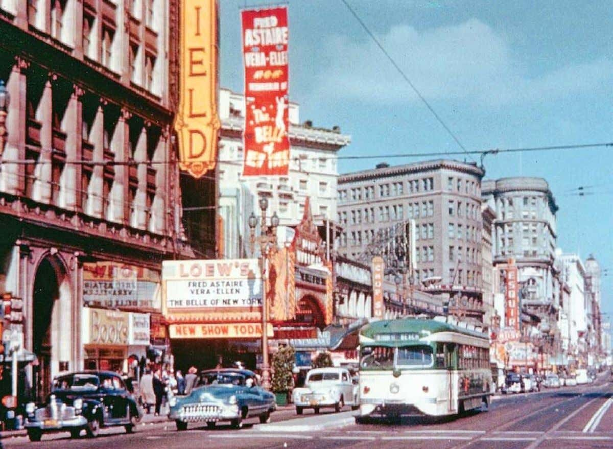 Jack Tillmany owned and operated the Gateway Cinema in Downtown San Francisco from 1970 to