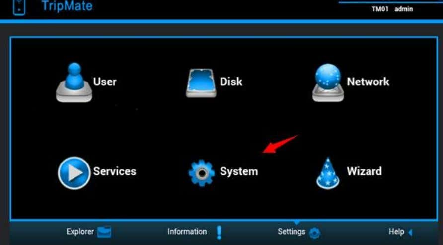needed 3.5 System Settings Login 10.10.10.254, click System 3.5.1 Backup & Restore Select Backup Settings .