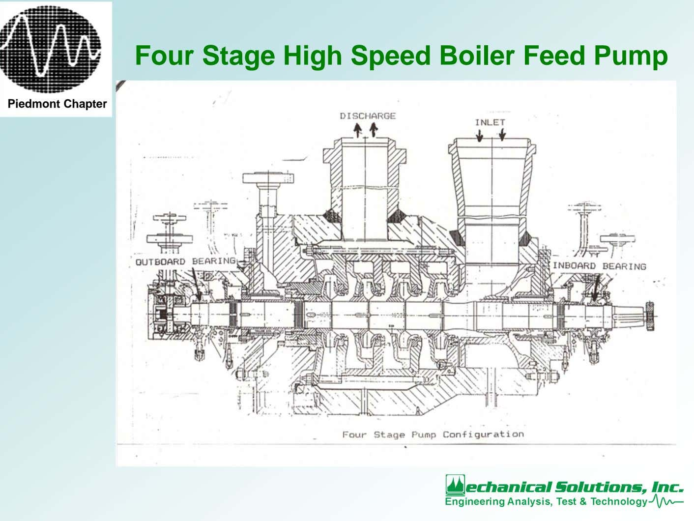 Four Stage High Speed Boiler Feed Pump Piedmont Chapter