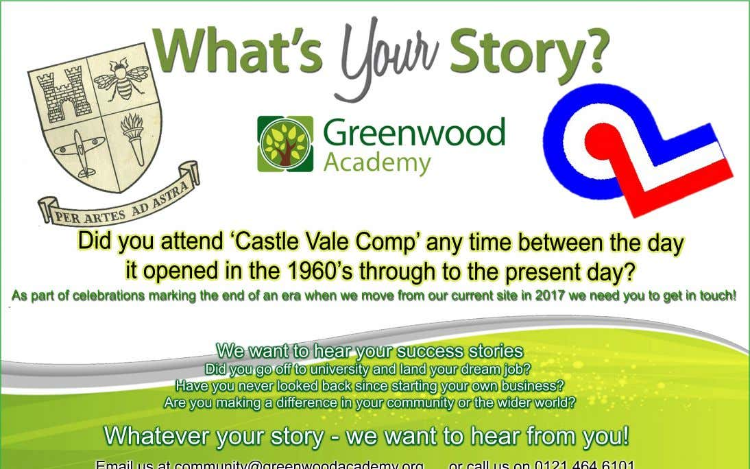 Did you attend 'Castle Vale Comp' any time between the day it opened in the