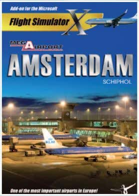 Add-ons for Microsoft FSX Mega Airport Amsterdam X The largest airport of the Netherlands! Amsterdam Schiphol