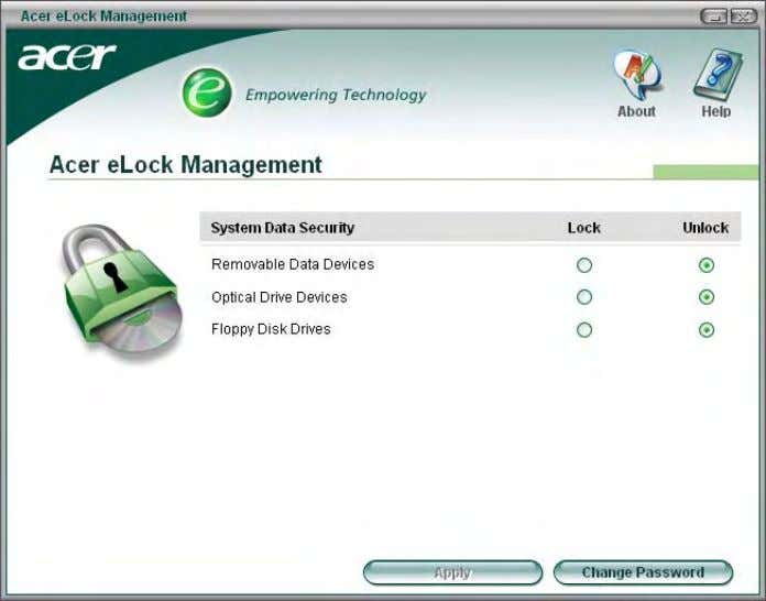 Acer ePerformance Management Acer ePerformance Management is a system optimization tool that boosts the performance