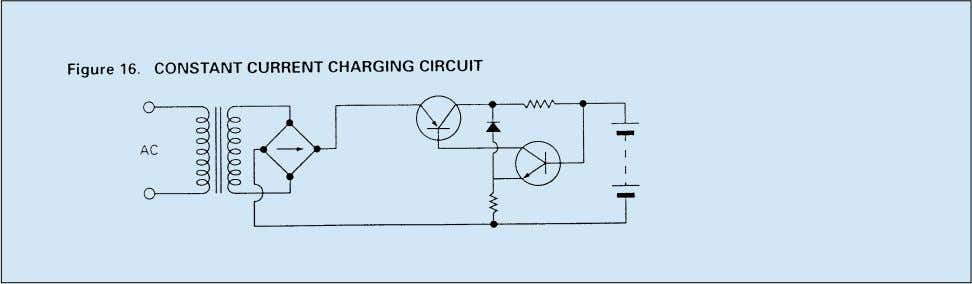 circuit; Figure 17 shows the characteristics of two NP6-12 batteries under continuous overcharge conditions. – 17