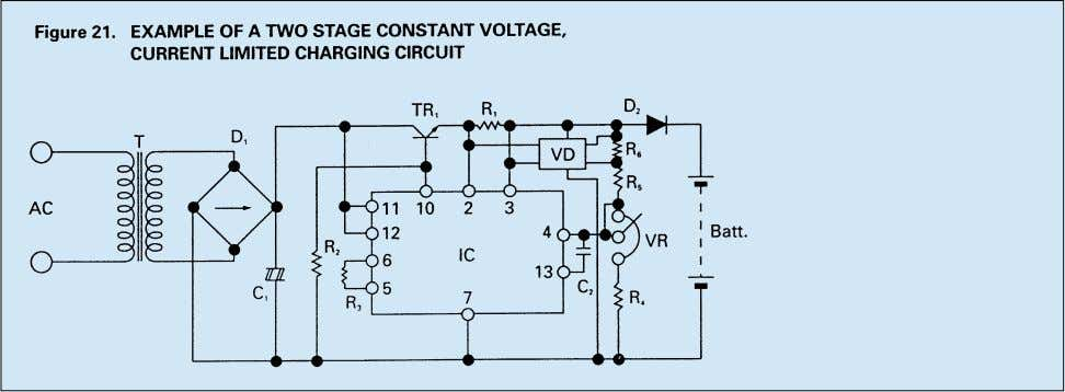"2 (float/standby) charge at the switching point ""Y"". When this charging method is used, the output"