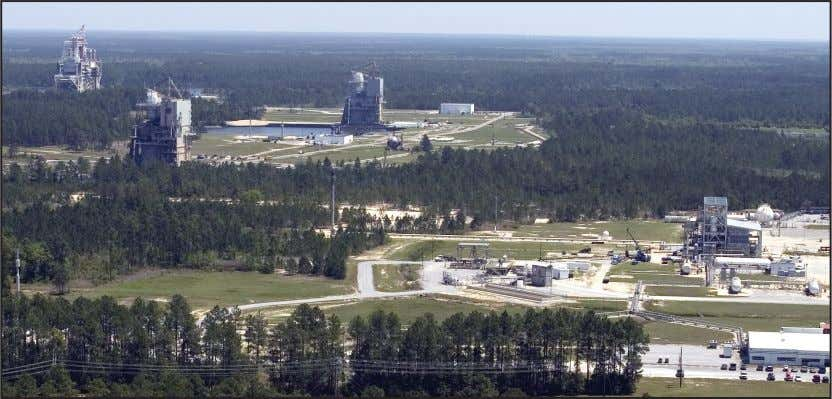 Plum Brook Station in Ohio. SSC works directly with the SSC's rocket engine test stands provide
