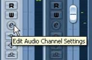 "para abrir a janela ""VST Audio Channel Settings."" 4. Usaremos o efeito ""Compression"" no track ""Bass"""