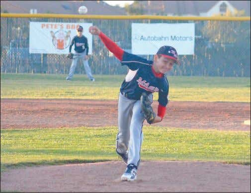 Hejumpedaheadofthenext batter, See 10-11s , Page 12 TERRY BERNAL/DAILY JOURNAL Menlo-Atherton starting pitcher