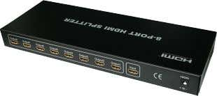 with■a■switch 8 WAY HDMI SPlITTER 1 In 8 OUT HDMI8SP  |   00760678 ■ ■