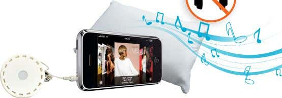 backlit lCD display which can be easily read pIlloW SPEaKER PS100 | 38857010 ■ enjoy listening