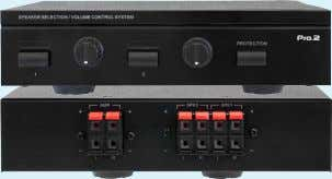 2 WAY SPeaker SeLector SPS2A  |   39894125 ■ ■ The■ SPS2A