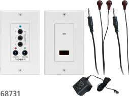 8 IR REPEATER WAll PlATE KIT PRO1255  |   37168731 ■ ■