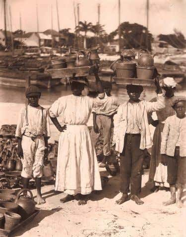Plying their wares on the waterfront Bridgetown: Center of Atlantic Trade in 17th century H