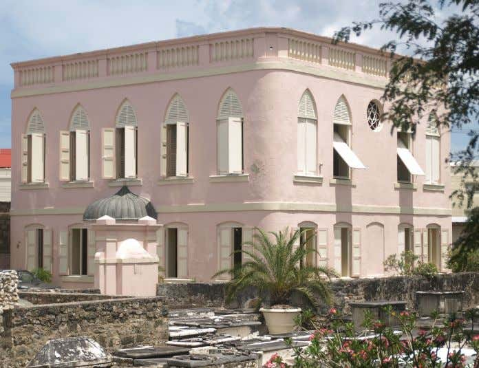 many respects Barbados was ahead of the UK open mindedness. Jewish synagogue - oldest in the