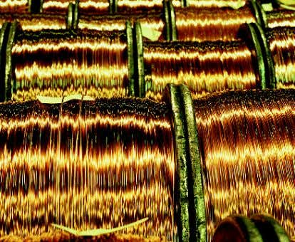wires of any metal. The long sensing ranges allow the wire to bounce during the process