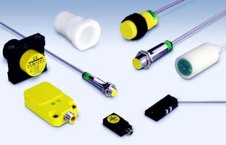 found in the semiconductor and chemical industries. Liquid Level Detection Capacitive sensors have the ability