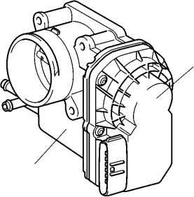 in order to regulate the opening angle of the throttle valve. Throttle Control Motor Throttle Position