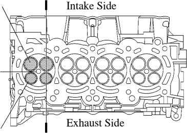 Intake Side Exhaust Side