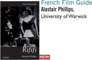 French Film Guide Alastair Phillips, University of Warwick NEW