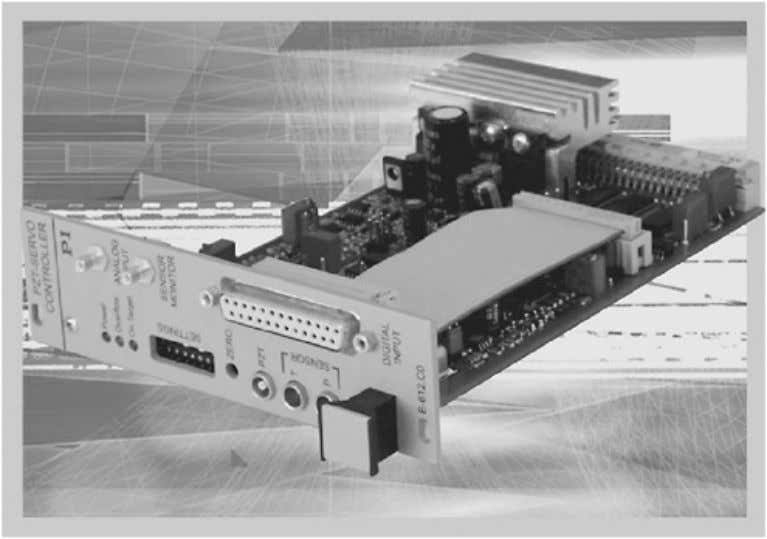 7.24. Nano-positioning systems with a micro-radian-range. Figure 7.25. A high-speed nano automation controller board.