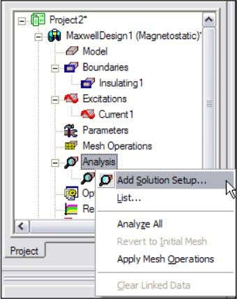 Setup > Add Solution Setup 2. Solution Setup Window: 1. Click the General tab : •