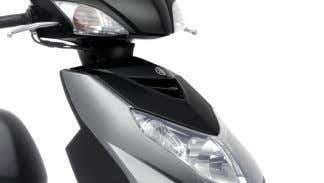 functional and reliable – just like the scooter itself. Powerful 65W headlight and integral flashers The
