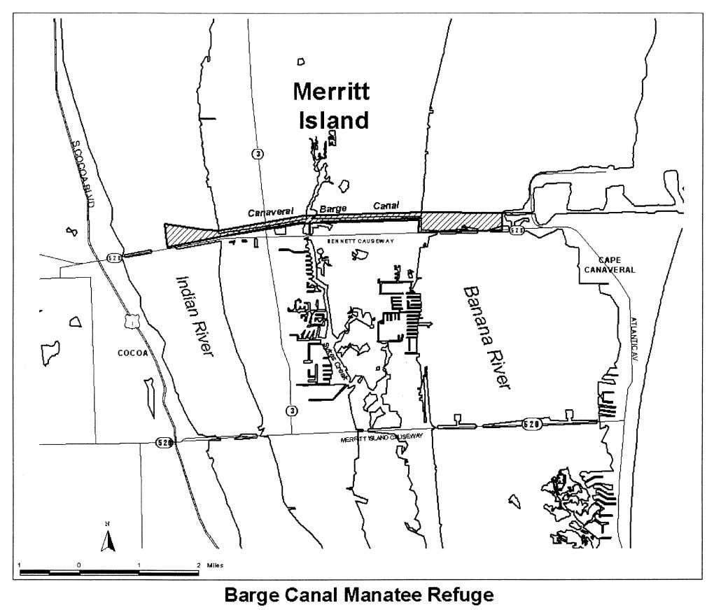 8, 2002 / Rules and Regulations ER08NO02.024</GPH> (2) The Sykes Creek Manatee Refuge. (i) The Sykes