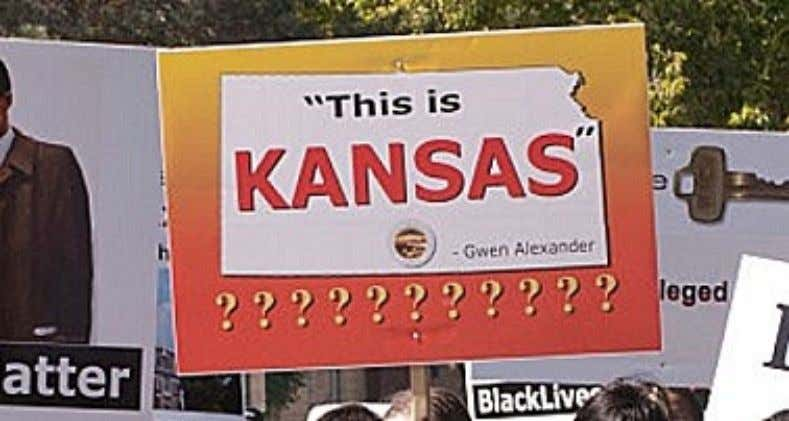 the statement that ― This is Kansas ‖ so I felt that it was necessary to