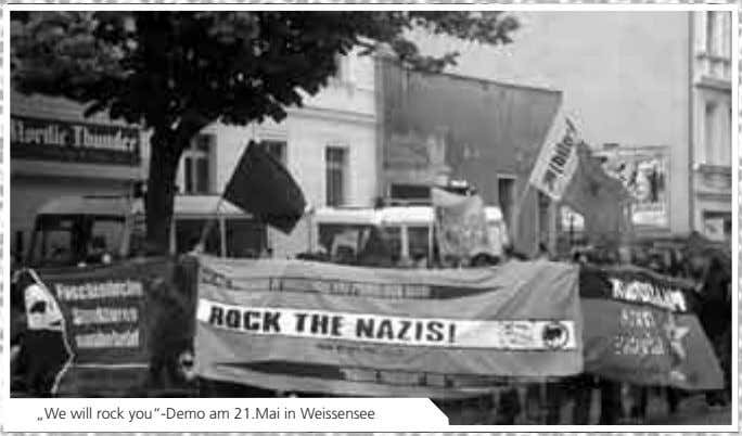 """We will rock you""-Demo am 21.Mai in Weissensee"