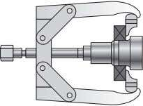 can be obtained by contacting your Timken representative. fig 1 pullers for bearing removal For bearings
