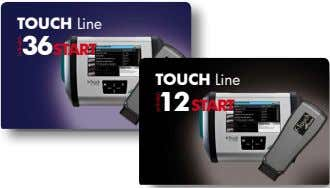 TOUCH Line 36 START TOUCH Line 12 START activation activation