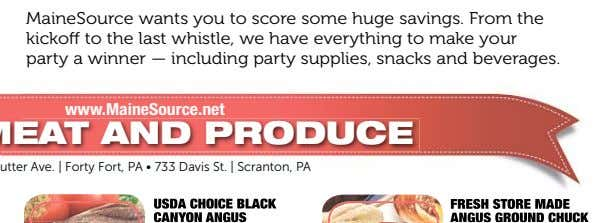 MaineSource wants you to score some huge savings. From the kickoff to the last whistle,
