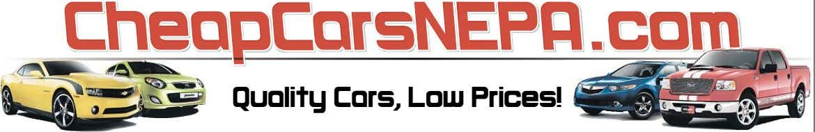 Quality Cars, Low Prices!
