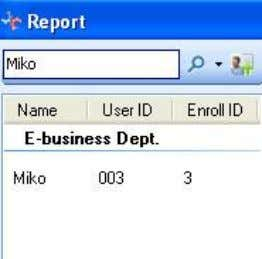 RIMS 4.1-22 Initial query : input the first letter of the name then search. For example: