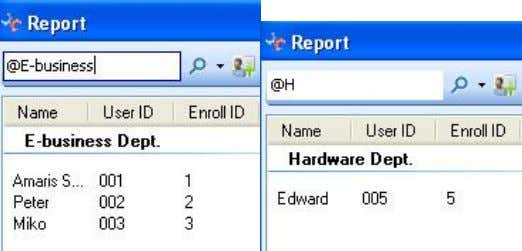 RIMS 4.1-24 Query user information according to gender : query the female or male information in