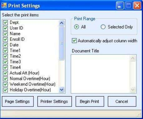 only print the contains of the current displaying page. 2) 4.2-56 Click Export to popup the
