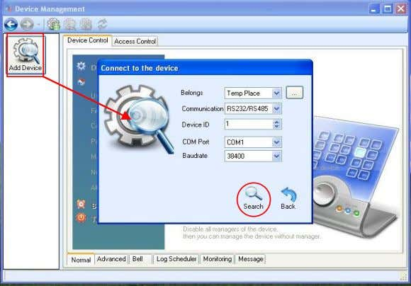 RIMS 4.3-2 It will display Successful Connect Prompt Box, corresponding to the data searched. Click OK
