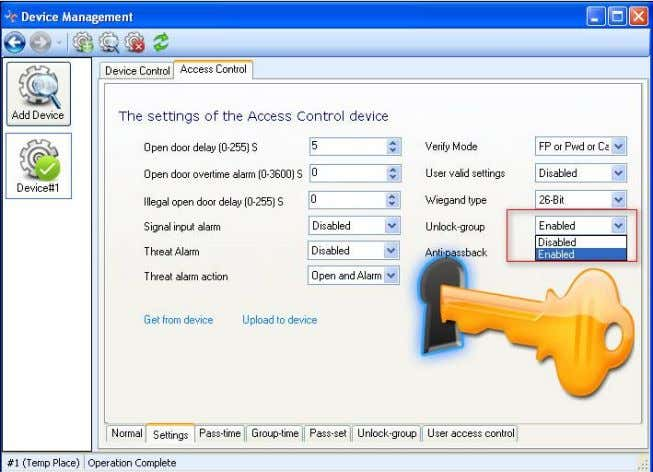 RIMS 4.3-19 Then click Access Control - User Access Control, then set the user access control.