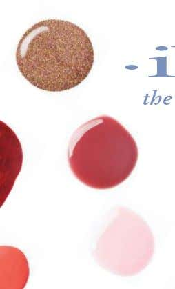 FIND EVERY INSPIRATION NEW SHADE IN Classic l00% pure gel polish shines in ll4 colors. ibdbeauty.com