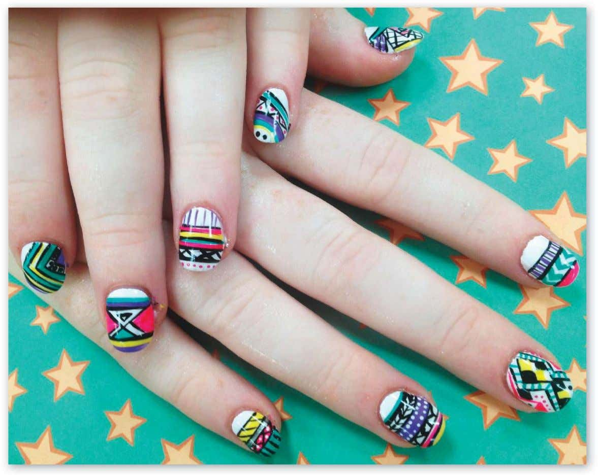 tribal! Pinky Huynh, Pinky Nails Salon, Egg Harbor Township, N.J. [Click here for full profle.] 18