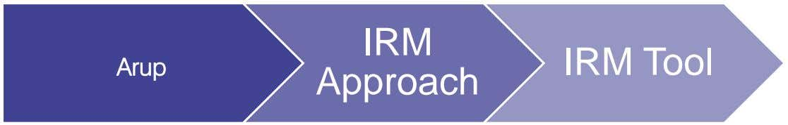 IRM IRM Tool Arup Approach