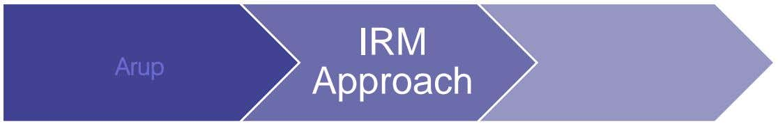 IRM Arup Approach