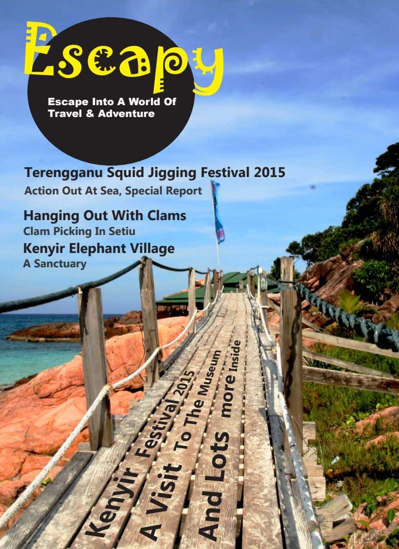 Escapy Escape Into A World Of Travel & Adventure Terengganu Squid Jigging Festival 2015 Action