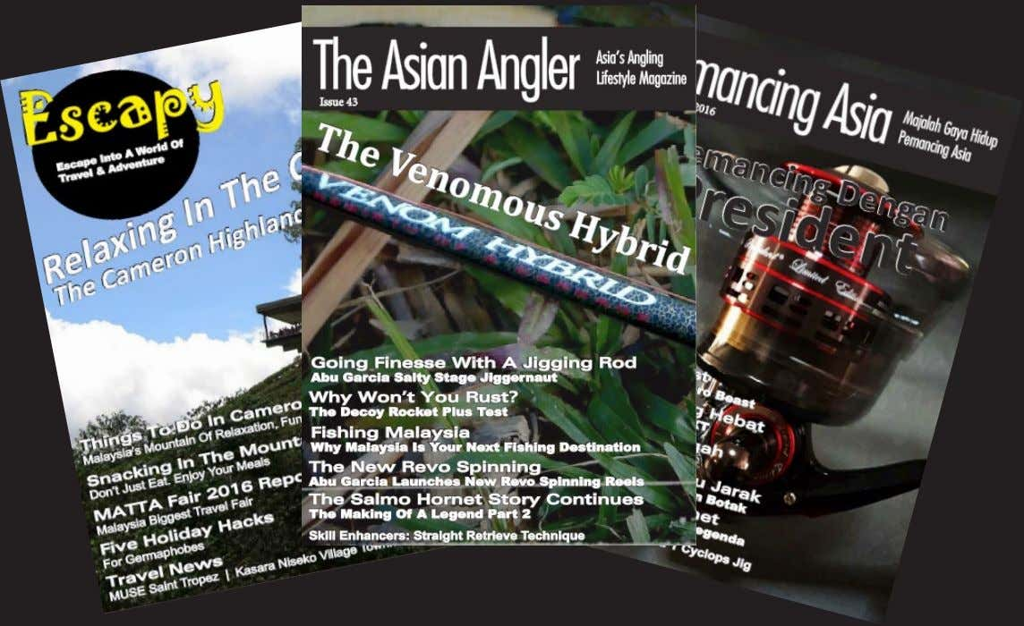 Sent To You Every Month & Never Miss An Issue Again. Three Titles Monthly: The Asian