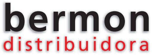 DISTRIBUIDORA BERMON | CAT˘LOGO DE PRODUCTOS 2010