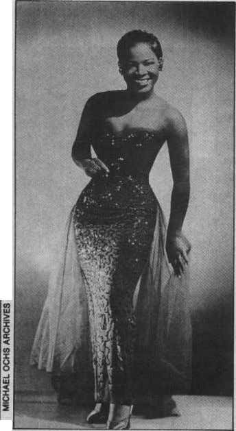 (Aparecido en `The New York Times', 1956) LaVern Baker. Una, dos, las tres, el rock de