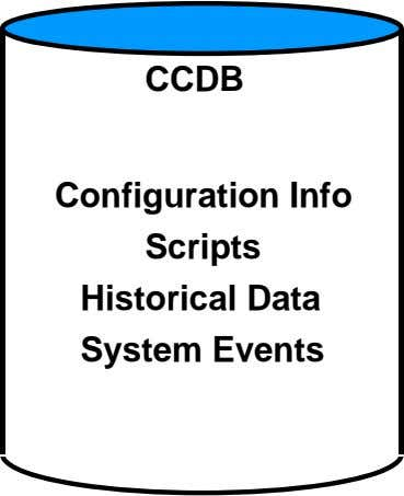 CCDB Configuration Info Scripts Historical Data System Events