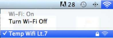 WiFi from the Mac and repeat step How to Update above. 2. Q : I got